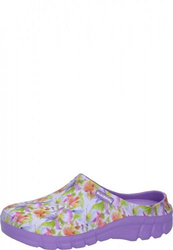 AJS Blackfox Gartenclog Sabot LILY violet