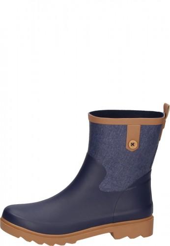AJS Blackfox Damen Gummistiefellette PHOENIX marine-blau