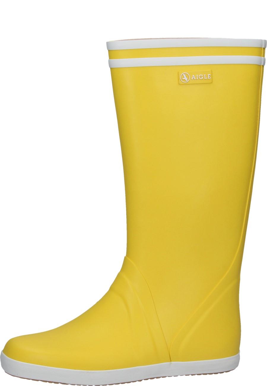 Aigle Gummistiefel GOELAND jauneblanc