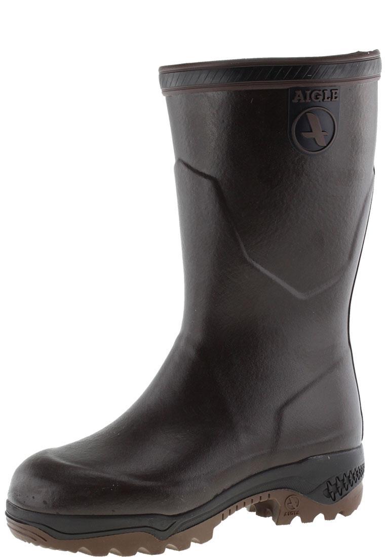 new style c31fd 1fb56 Aigle Gummistiefel PARCOURS 2 ISO BOTTILLON brun