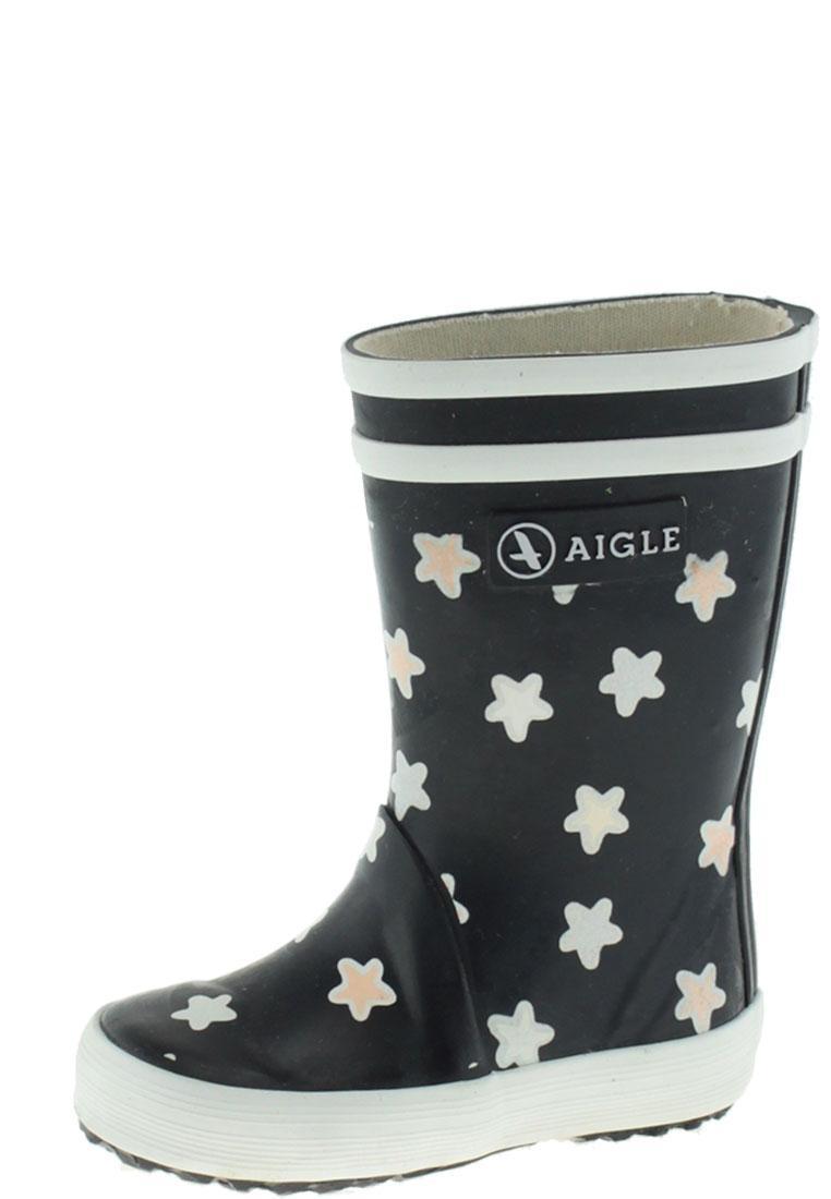 sports shoes 503d0 cad54 Aigle Kindergummistiefel - LOLLY POP PRINT marine/étoile - der magische  Regenstiefel