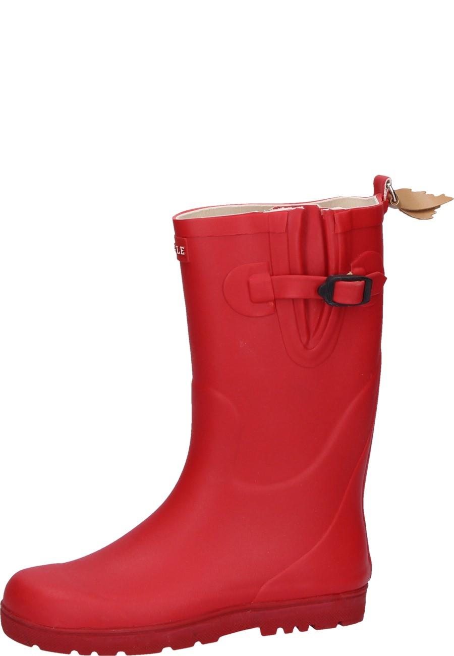 0e72a0ca9d3dff Aigle Kindergummistiefel - WOODY POP CERISE - ein hochwertiger  Naturkautschuk Stiefel für Mädchen ...