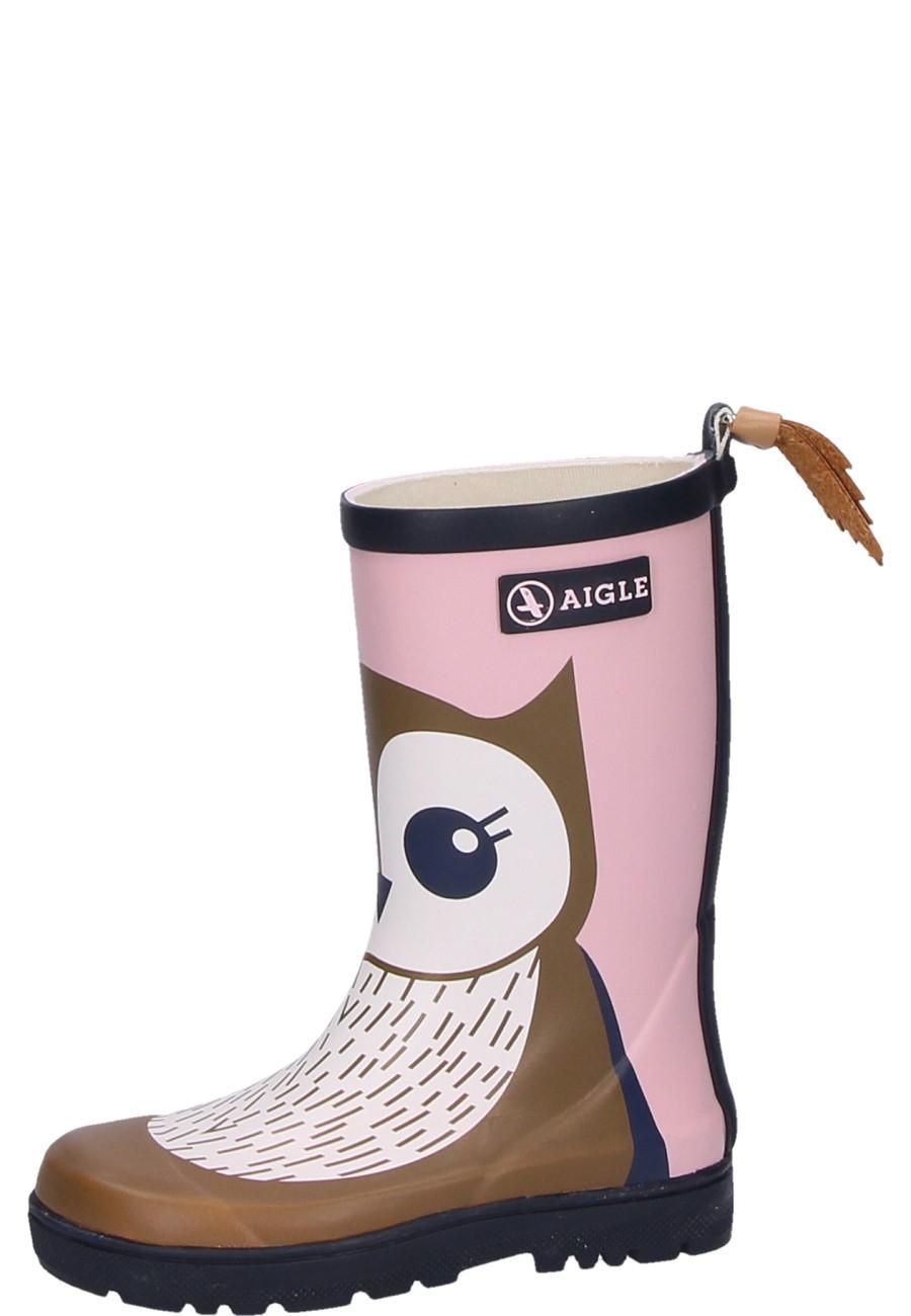 sports shoes 994ea 2a516 Aigle Kindergummistiefel WOODYPOP FUN hibou