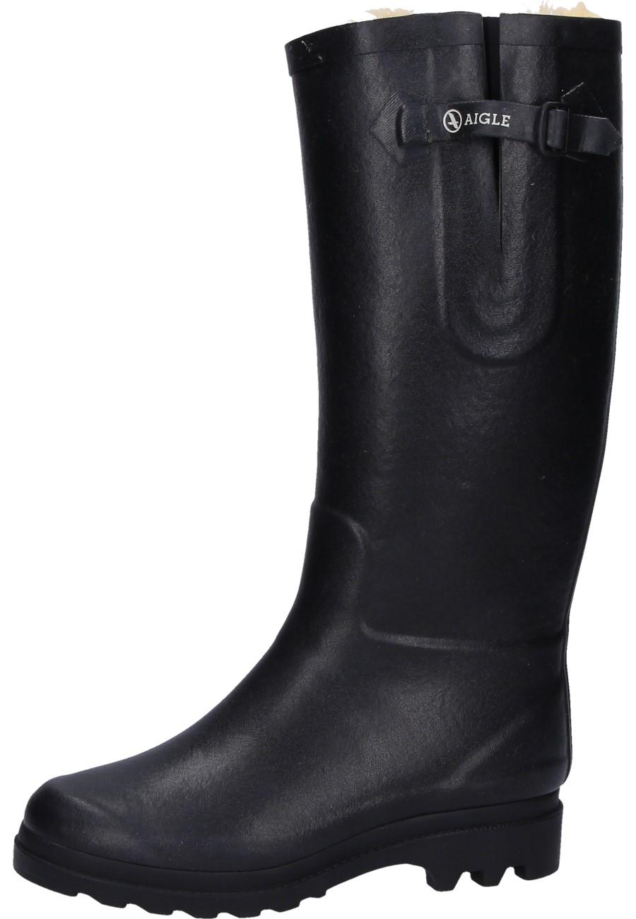 sports shoes 33e3d 54d7e Aigle Winter Gummistiefel AIGLENTINE FUR black