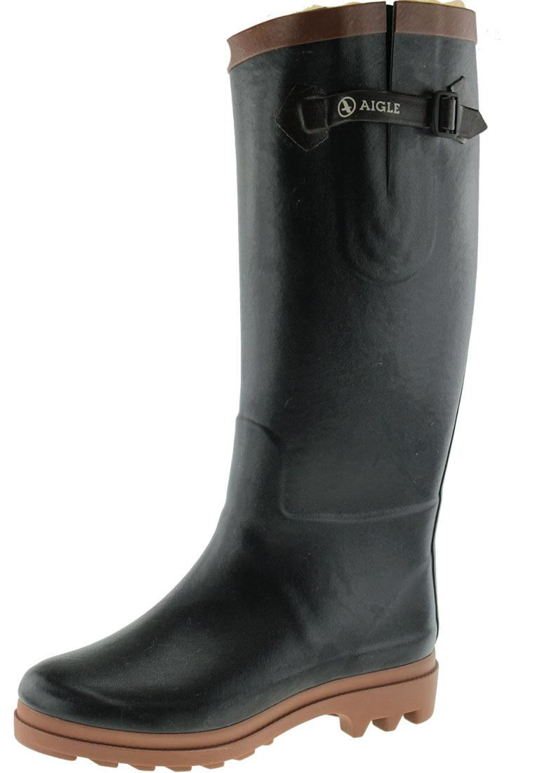 uk availability 58b77 ba7d4 Aigle Winter Gummistiefel AIGLENTINE FUR marine