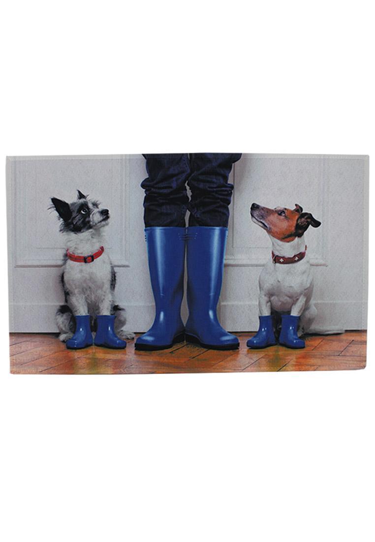 Cm 50x80 Akzente Fußmatte Hunde Gummistiefel XPOiuTkZ