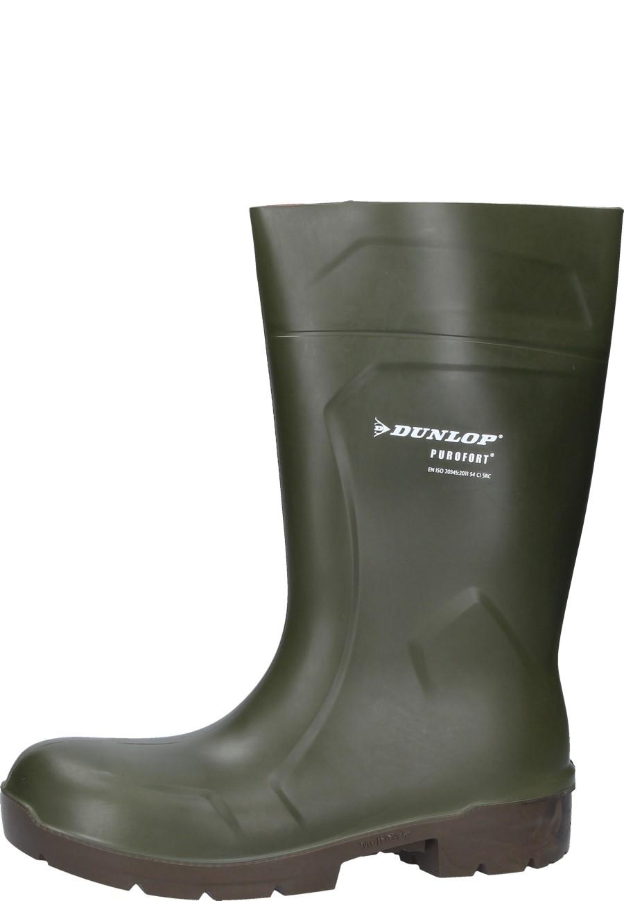 4a881173f72619 Arbeitsgummistiefel Dunlop PUROFORT MultiGrip Safety grün S4  Arbeitsgummistiefel ...