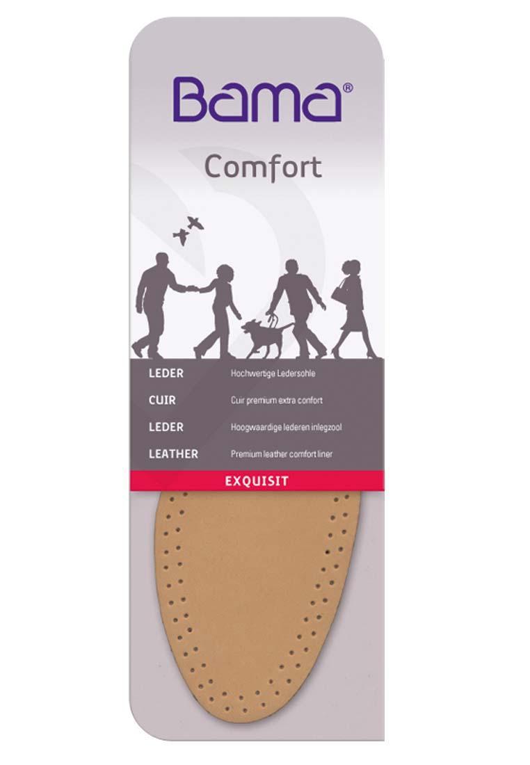 best service adda3 09528 BAMA Exquisit, eine Komfortsohle aus Leder mit Polsterschicht