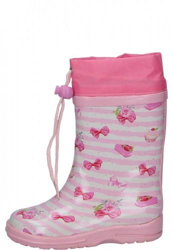 Beck Kindergummistiefel CUPCAKE rosa