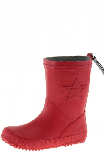 Bisgaard Kindergummistiefel STAR red
