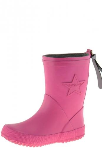 Bisgaard Kindergummistiefel STAR pink