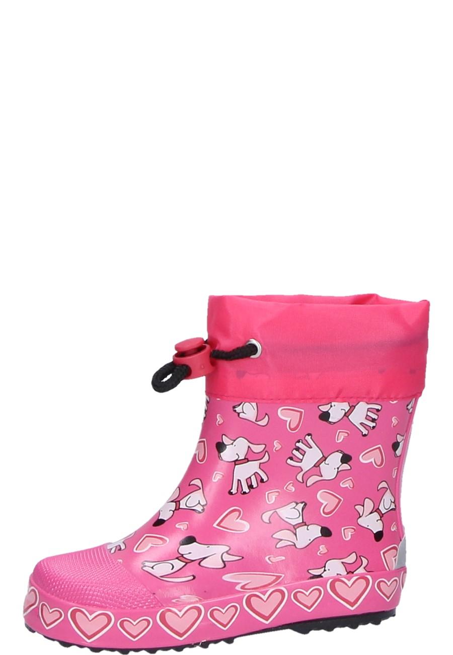 Beck Kleinkinder Gummistiefel HUNDE pink