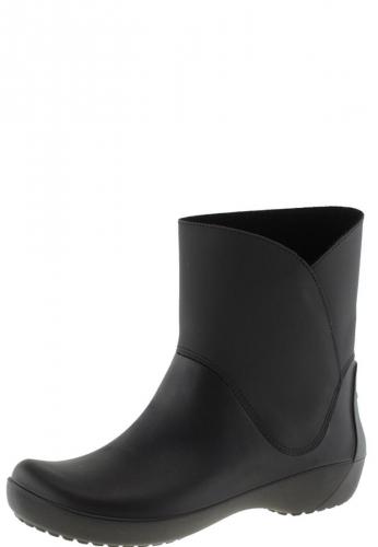 Crocs Gummistiefelette RAINFLOE BOOTIE black