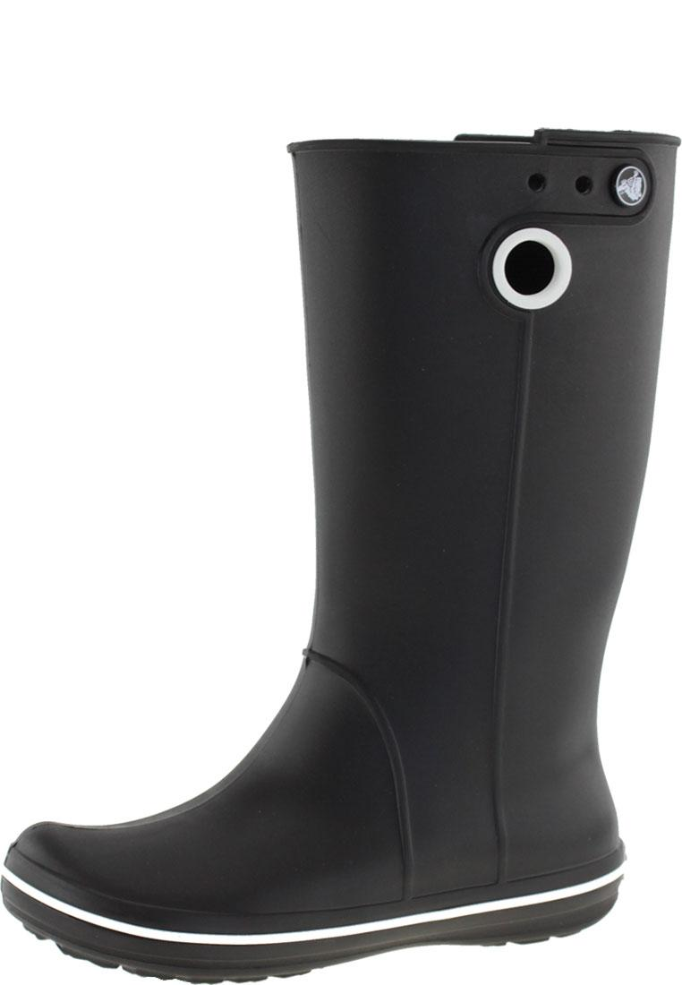 hot sale online 4e815 0369a Crocs Gummistiefel CROCBAND JAUNT WOMAN black
