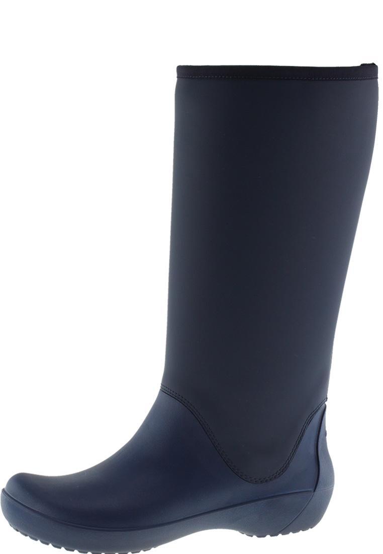 huge discount 0d608 7ff08 Crocs Gummistiefel RAIN FLOE TALL BOOT WOMEN navy