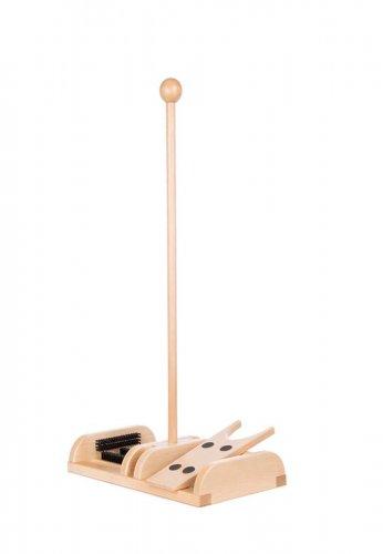 Esschert Design Esschert Holz- Schuhabstreifer mit Stiefelknecht aus der Serie BEST FOR BOOTS