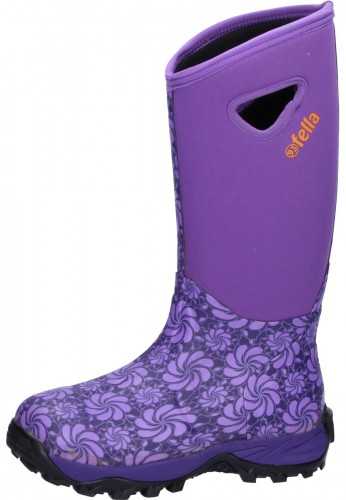 Fella Damen Gummistiefel EVA purple