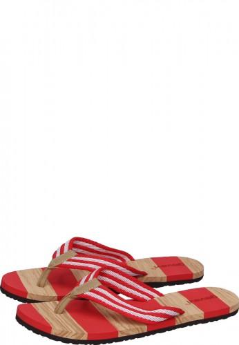 Gevavi Zehentrenner BEACH SLIPPER für Damen in rot