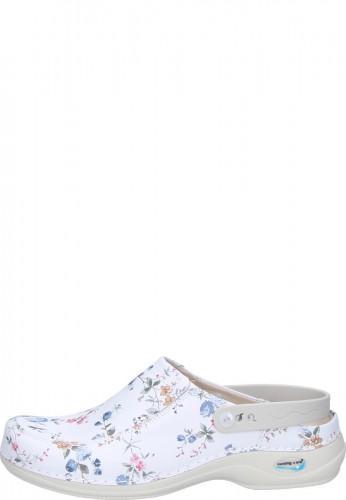 Gevavi Wash & Go Clog FLOWERS