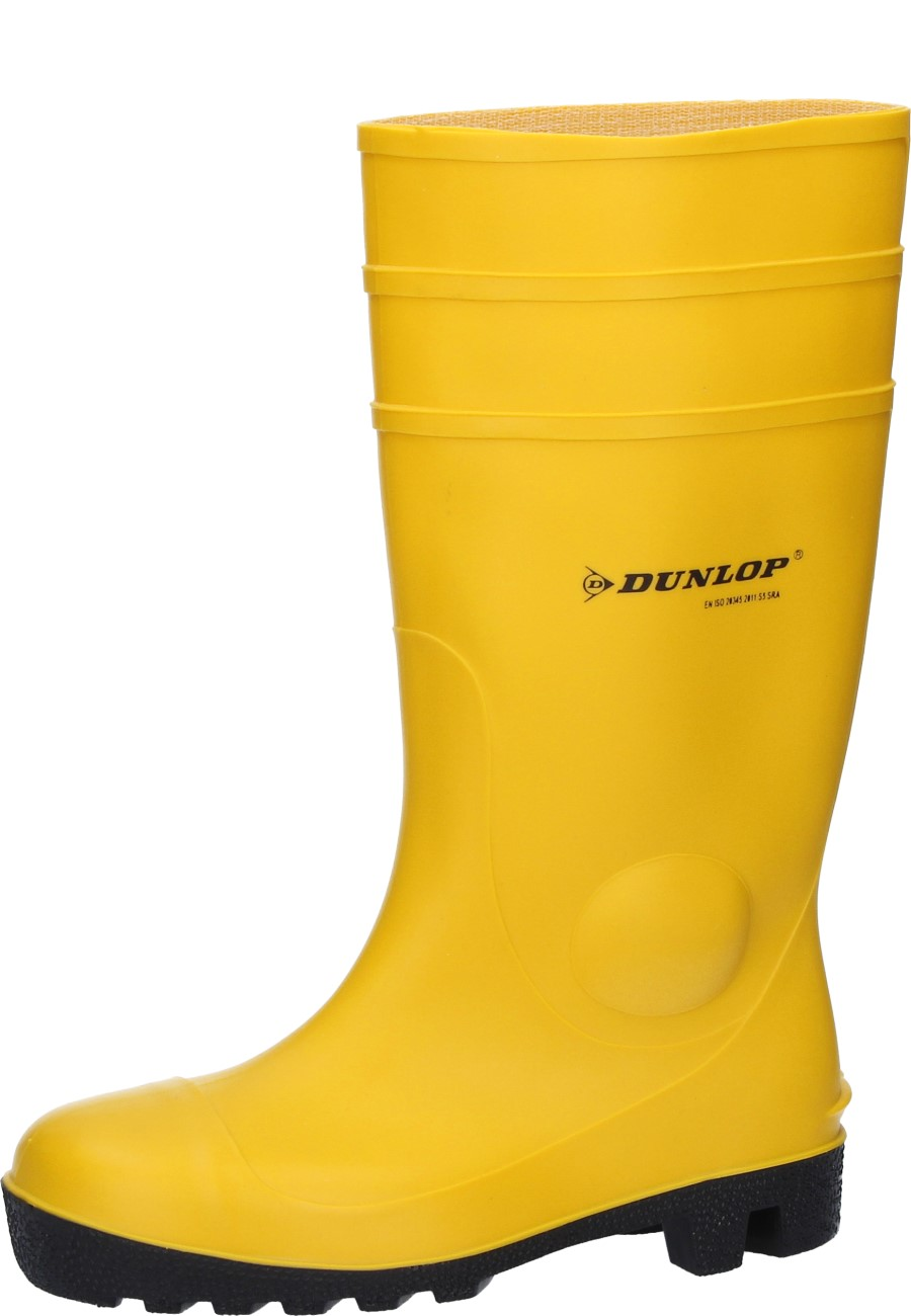48 Dunlop Gummistiefel Protomaster gelb Gr