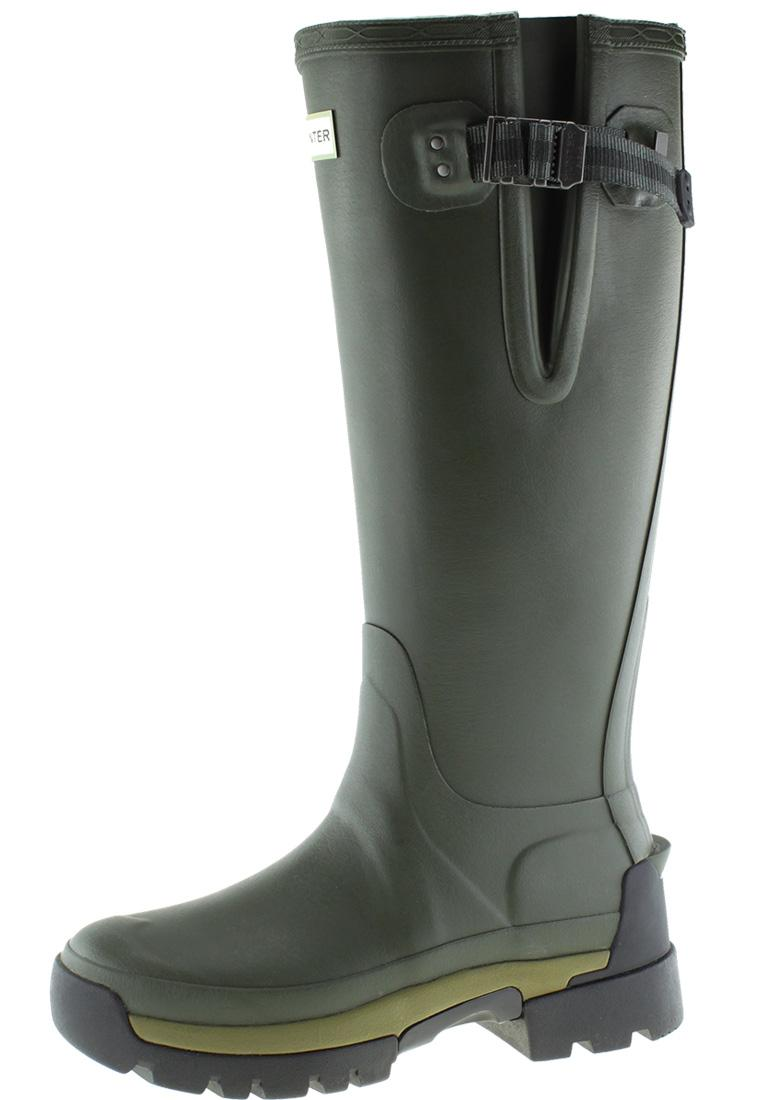 f59fa432be26af Damen Gummistiefel Balmoral Side Adjustable 2 olive von Hunter