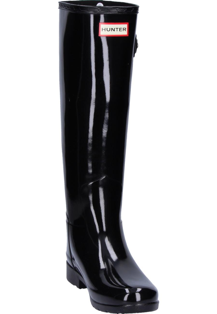 Hunter Damen Gummistiefel ORIGINAL REFINED GLOSS black