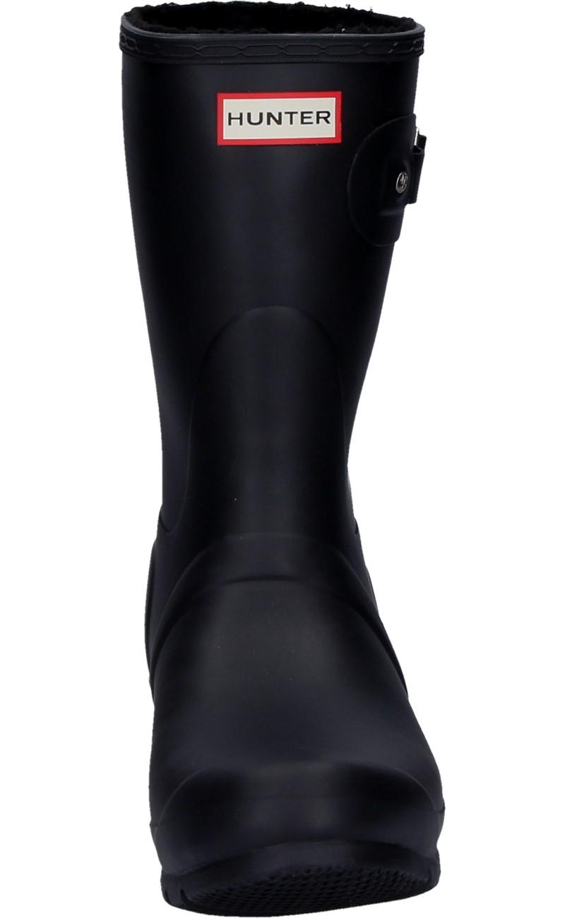 Hunter Damenstiefeletten WOMENS ORIGINAL INSULATED SHORT black