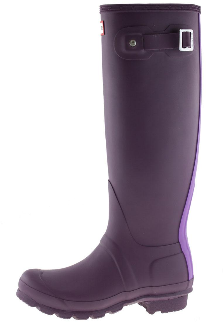 Stripe Bright Plum Gummistiefel Original Hunter Womens kZN8n0OPXw