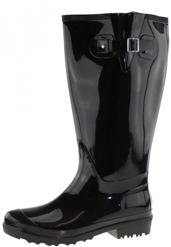 Wide Wellies Weitschaft Gummistiefel WIDE WELLIE black XL