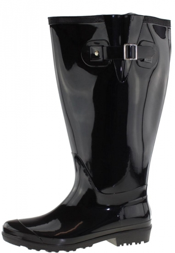 Wide Wellies Weitschaft Gummistiefel WIDE WELLIE black XXL