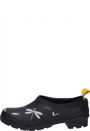 Joules Damen Clog Pop On BLACK BUGS