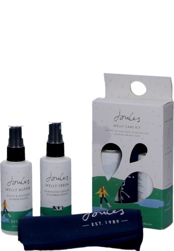 Joules Gummistiefel Pflegeset WELLY CARE KIT