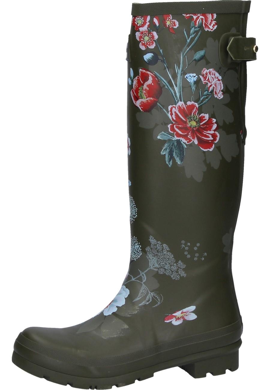 b7aa3a0c4ce061 Gummistiefel Green Floral für Damen der Marke Joules