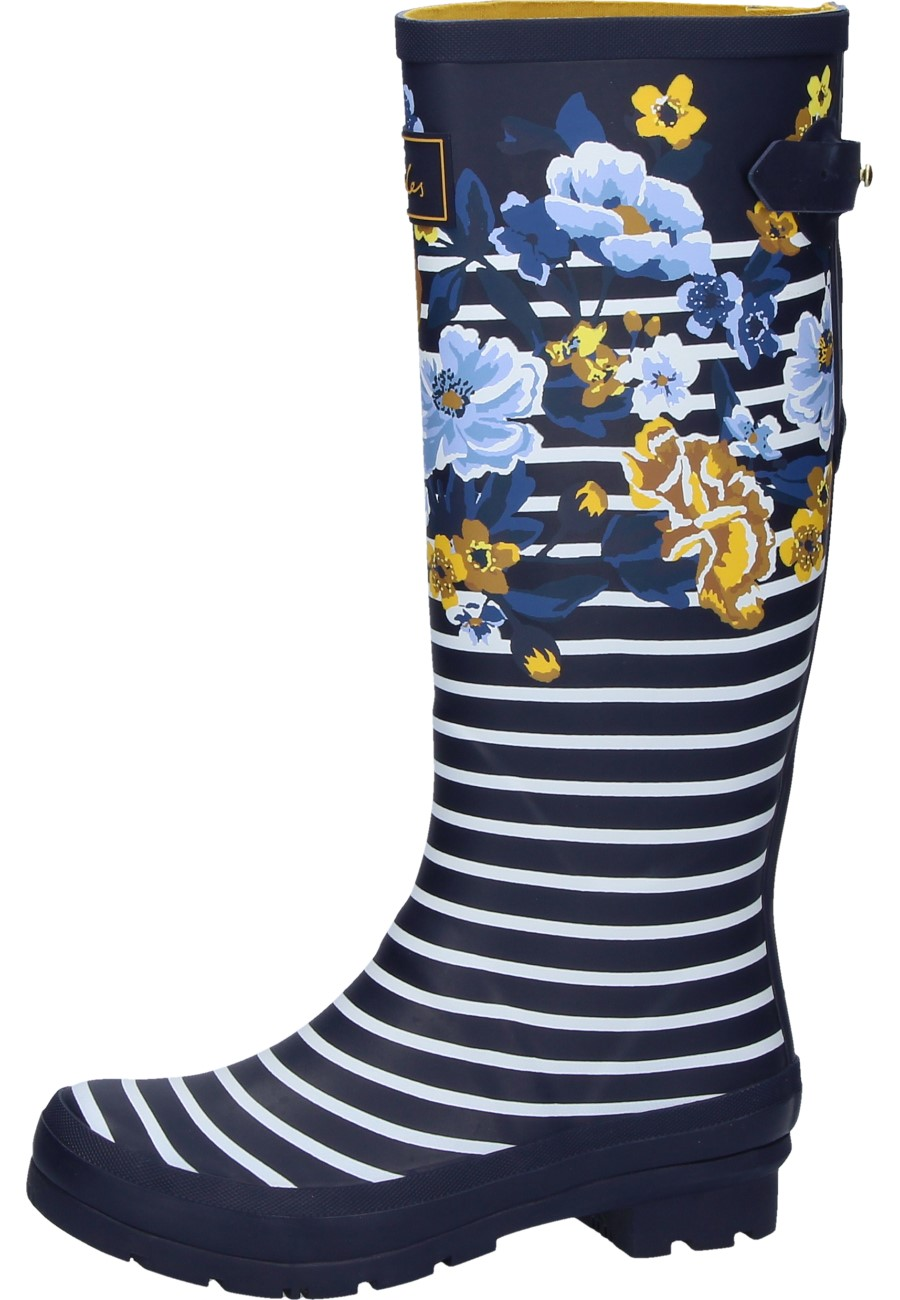 lowest price 95df6 cea77 Joules Damen Gummistiefel NAVY BOTANICAL blau
