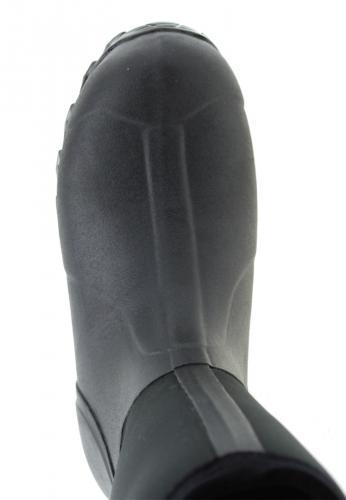 MAINWALKER black, der fella Gummistiefel für Damen, robust, bequem funktionell mit Cross Sohle