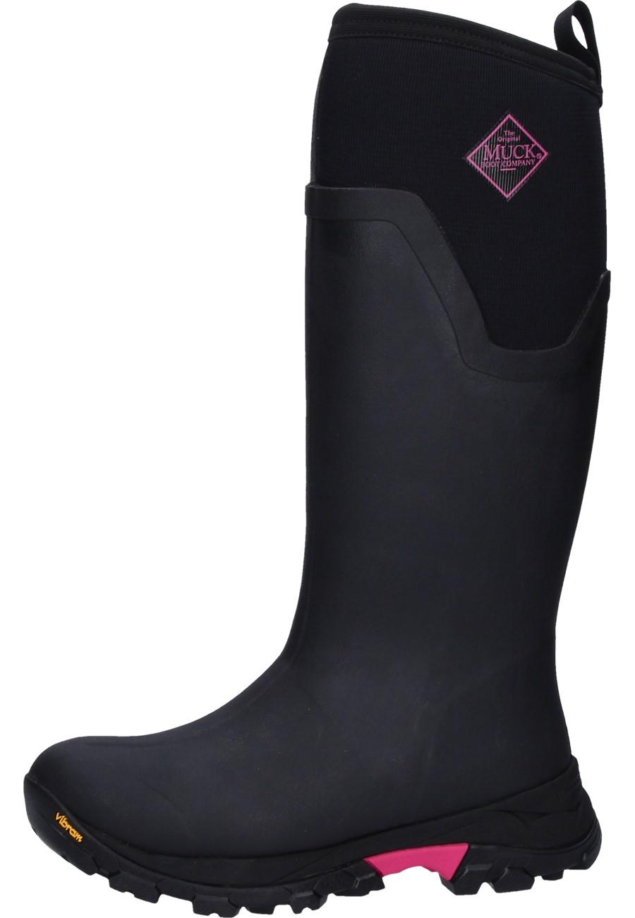 low priced f40e6 306c5 Muckboots Gummistiefel ARCTIC ICE TALL LADY black-rose