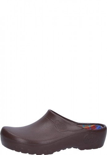 Gartenschuh JOLLY FASHION CLOG braun by Alsa