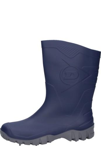 Preisgünstiger Kurz - Gummistiefel -Dunlop DEE - in blau für den Arbeits u. Freizeitbereich