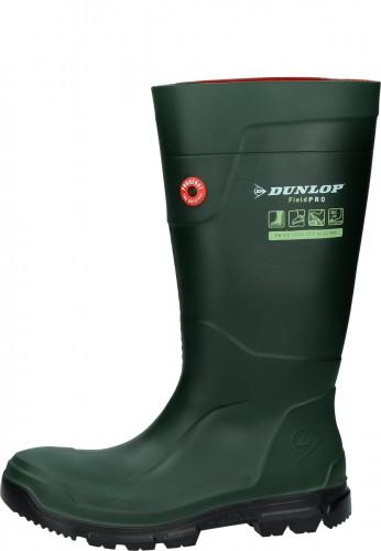 Dunlop Gummistiefel PUROFORT® FieldPRO NonSaftey oliv | Gummistiefel mit Sneaker Passform