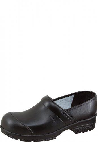 Sanita Work Wear PU-CLOG S2 mit FERSENSCHUTZ und STAHLKAPPE schwarz