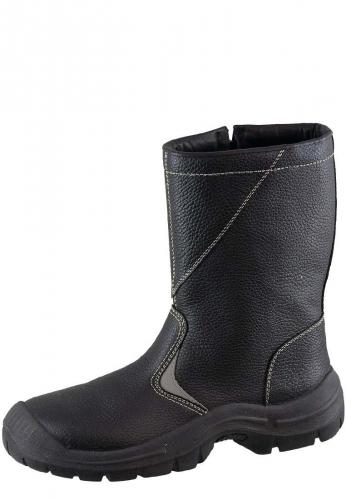 Arbeitsstiefel - Winter 381 black- Sicherheitsschuh - Klasse: EN ISO 20345:2004 S3 CI