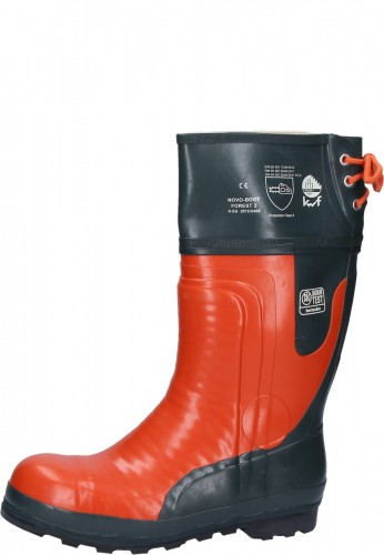 Forst Gummistiefel Sägeschutzstiefel Kl. 2 Novo Boot Forest 2 nach EN ISO 20345:2007 SB