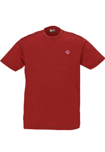 CanadianLine Arbeits- u. Freizeit-T-Shirt - CL-T-Shirt - Canadian Line - rot