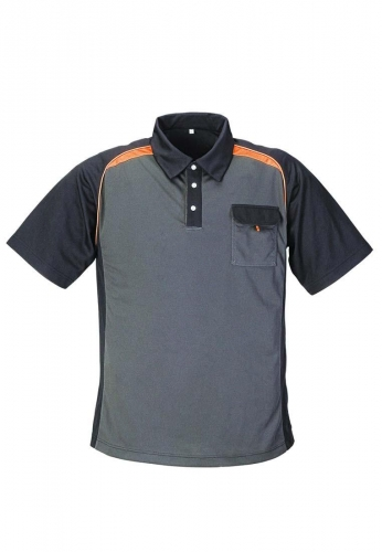 Berufskleidung - Poloshirt, grau , der Marke Terratrend Job - stark für Beruf und Freizeit