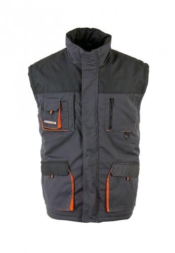 Terratrend Job Winterweste in grau der Marke Terratrend - die Profis für Berufsbekleidung -