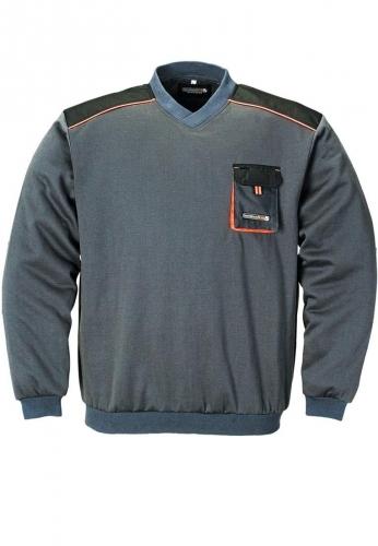 Berufskleidung - Pullover, grau , der Marke Terratrend Job - stark für Beruf und Freizeit