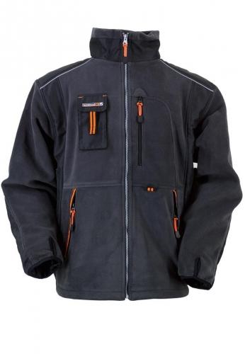 Terratrend Job Fleecejacke in grau der Marke Terratrend - die Profis für Berufsbekleidung -