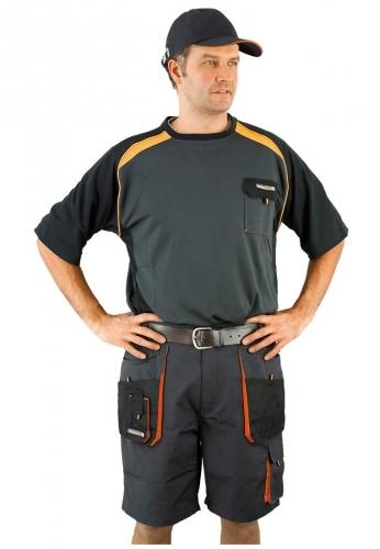 Terratrend Job Kurze Arbeitshose ( Shorts ) - Bundhose in grau von Terratrend ....Ihr Profi für Berufsbekleidung
