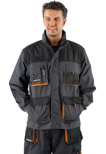 Terratrend Job Arbeitsjacke in grau der Marke Terratrend - die Profis für Berufsbekleidung -