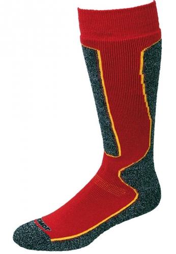 Meindl Socken -Wintersocke rot - die wärmende Wohlfühl Socke für hochwertige Schuhe und Stiefel
